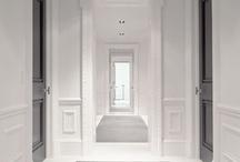 Entrances, hallways, corridors