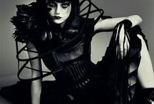 EDGE OF GLORY SHOOT / PHOTOSHOOT COLLAB INSPIRATION: DARK EDGY HIGH FASHION  AND HAIR /MAKEUP IDEAS FOR ME