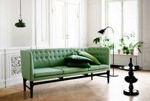 Interiors: green