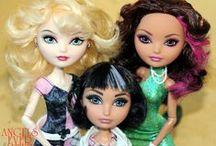 Ever After High / Ever After High Dolls, customized and factory issued! All Ever After High Dolls! / by Farrah Fawcett