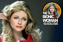 Lindsay Wagner by Noel Cruz / Lindsay Wagner as restyled and repainted by Noel Cruz to recreate Lindsay as Jaime Sommers TV's The Bionic Woman. Wagner won the best actress Emmy for her work on this program. See more of Noel's work at ncruz.com. Lindsay was painted for myfarrah.com.