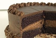 Dark Sinful Black Magic Chocolate Cake