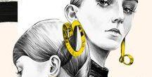 Fashion Illustration / By Ewelina Dymek.