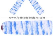 Lullaby / Even the baby needs ceiling fan blade covers that reflect temperament or decor. Your choice.