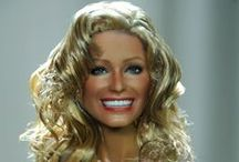 Farrah Fawcett 11.0 / A Mattel Black Label Farrah Fawcett as repainted, restyled and re-rooted by artist Noel Cruz of http://www.ncruz.com for http://www.myfarrah.com. July 2015. / by Farrah Fawcett