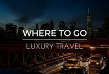 Where to Go | Luxury Travel / Luxury Travel and Home Design in the most beautiful places around the world Shop RubyLUX for unique 20th Century furniture and luxury home decor, antique furniture, fine art, designer vintage fashions, fashion accessories; and antique, vintage,and contemporay gemstone jewelry.  www.RubyLUX.com #RubyLUX @shoprubylux