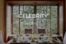 Celebrity Homes / Design inspiration from Celebrity Homes. Shop RubyLUX for unique 20th Century interior home decor, exterior garden decor, decorative art, furniture and lighting, fine art, antiques, vintage and retro collectibles, fashion clothing designs, fashion accessories, and antique, vintage, contemporary gemstone jewelry. www.RubyLUX.com #RubyLUX @shopRubyLUX