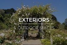 Exteriors & Outdoor Spaces / Exterior Home Garden Design and Interior Home Decor Shop RubyLUX for unique 20th Century home decor, decorative art, fine art, antiques, vintage and retro collectibles, fashion clothing designs, fashion accessories, and antique, vintage, contemporary gemstone jewelry. www.RubyLUX.com #RubyLUX @shopRubyLUX
