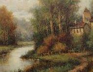 Antique Paintings & Art / Original Antique Paintings