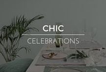 Chic Celebrations / Art, Design and Decor for everyday celebrations and holidays.  Shop RubyLUX for unique 20th Century interior home decor, exterior garden decor, decorative art, furniture and lighting, fine art, antiques, vintage and retro collectibles, fashion clothing designs, fashion accessories, and antique, vintage, contemporary gemstone jewelry. www.RubyLUX.com #RubyLUX @shopRubyLUX