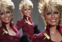 Farrah Fawcett vs. 15.0 by Noel Cruz / Farrah with her 80's shorter do for her appearance off Broadway in Extremities! Tthe 9th  Black Label by Noel Cruz for www.myFarrah.com). A Mattel Repainted Black Label Barbie of Farrah Fawcett in the off Broadway Production of Extremities post Angels. She received critical acclaim for her work in this play and would later go on to star in The Burning Bed. Farrah by Noel Cruz. Visit his site for more of his work at www.ncruz.com. / by Farrah Fawcett