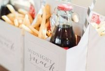 Food and Beverage Inspiration / Food Drink Catering Ideas for Weddings + Events