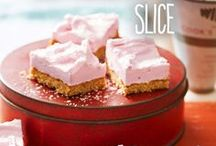 Coconut slice recipes / Coconut slices make superb coffee companions! Choose from these delicious recipes including coconut & chocolate, strawberry & coconut, and no-bake coconut slice.