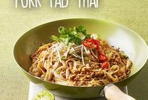 Thai recipes / From traditional Thai to Thai-inspired, these Thai recipes are a delicious way to enjoy the takeaway favourite – pad Thai, Thai salads, Thai fish cakes…