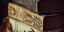 Well Worn Pages of Times Past / Old world libraries, manuscripts, books and pages.