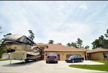 Dream homes. Big garages. / Dream homes. Beautiful life/