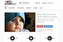 Webové stránky Proděti.cz