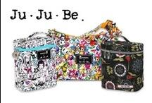 Ju Ju Be / Proč by přebalovací tašky nemohly být funkční a módní zároveň? Proč i v této kategorii nevyužít nejnovější technologie? To byl právě důvod vzniku značky Ju-Ju-Be. Dopřejte si také tyto stylové a praktické výrobky.