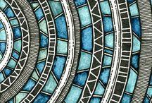 Zentangle and doodlework