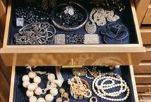 Organizing Jewelry / In your drawer, in a jewelry box or out and about traveling the seven seas, how you store your jewelry is crucial to maintaining its beauty.