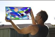 Danne Sadler: Water & Light / Photodocumenting Danne's stain glass artistry