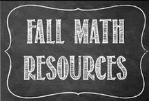 FALL Math Resources / Great Middle School Math Resources for Halloween!