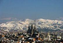 Winter in Barcelona / Time for snow and presents in the world's best city. // Tiempo de nieve y regalos en la mejor ciudad del mundo // Moments de neu i regals a la millor ciutat del món.