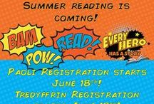 SRC Summer Heroes 2015 / Summer Reading is (almost) here! Check out fun superhero ideas!