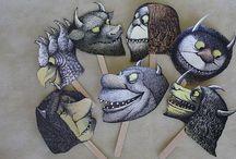 Teemat - Hassut hurjat hirviöt
