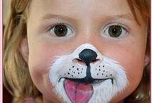 Karneval - malování na obličej