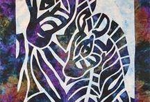 stencil / předlohy na malování, savování triček, přáníčka a další využití