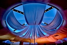 Event Decor | Ceiling Treatments / Corporate Event Ceiling Treatments, Designed and Produced by Sixth Star Entertainment.