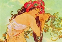 Art Nouveau Posters / All the best Art Nouveau Art from masters such as Alphonse Mucha, gathered into one amazing gallery