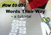 LANGUAGE ARTS / Visual and/or kinesthetic lessons for English and Language Arts: reading, handwriting, writing, spelling