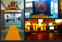 Gold Theme   Event Decor / Gold Theme Event Decor, Designed and built by Sixth Star Entertainment. www.sixthstarentertainment.com