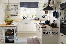 Home Decor: Kitchen Ideas / Home decor ideas for a beautiful kitchen. / by My Food Odyssey