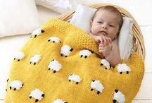 Crochet, laine et tricot.