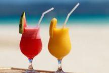 A consommer avec modération / Des boissons colorées avec ou sans alcool, juste un peu de bonheur dans un simple verre...