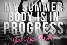 motivation to workout / Motivation to workout, weight loss and an active and healthy lifestyle