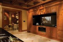 Transitional Luxe / Clive Christian's cabinetry, millwork and interior design create warm, inviting and luxurious decor in any room in the house.