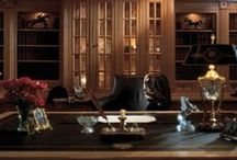 """The Modern Man Cave / Everyone needs a refuge - a place to escape the hustle and bustle.  The """"Man Cave"""" in a luxury home is taken up quite a few notches with Clive Christian Interiors."""
