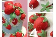 Fondant fruits and vegetables tutorials