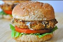 Eggplant Burgers / Great ideas and gourmet recipes for our Dominex Eggplant Burgers