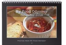 My Food Odyssey: Calendar 2016 / A selection of photos from the past year on the blog. All photos have been re-edited as special editions. Printed in full colour on high quality paper. Photos taken in Lithuania. / by My Food Odyssey