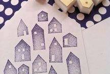 Бумага и stamps