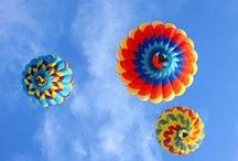 Decorating the Sky with Balloons :) / by Debbie Hahn