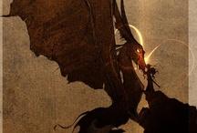 Dragons & Dragon flies / by Maggie Cruz