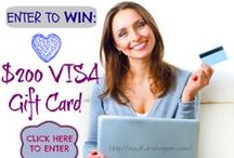 Sweepstakes, Giveaways, and Contests! / A collection featuring fun and fabulous giveaways, sweepstakes, and contests! #Giveaways #Sweepstakes #Contests #Win
