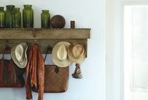 entryway/mudroom inspiration. / by Nadya Moshofsky