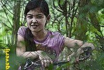 biking daughter